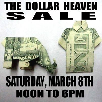 DOLLAR HEAVEN SALE!